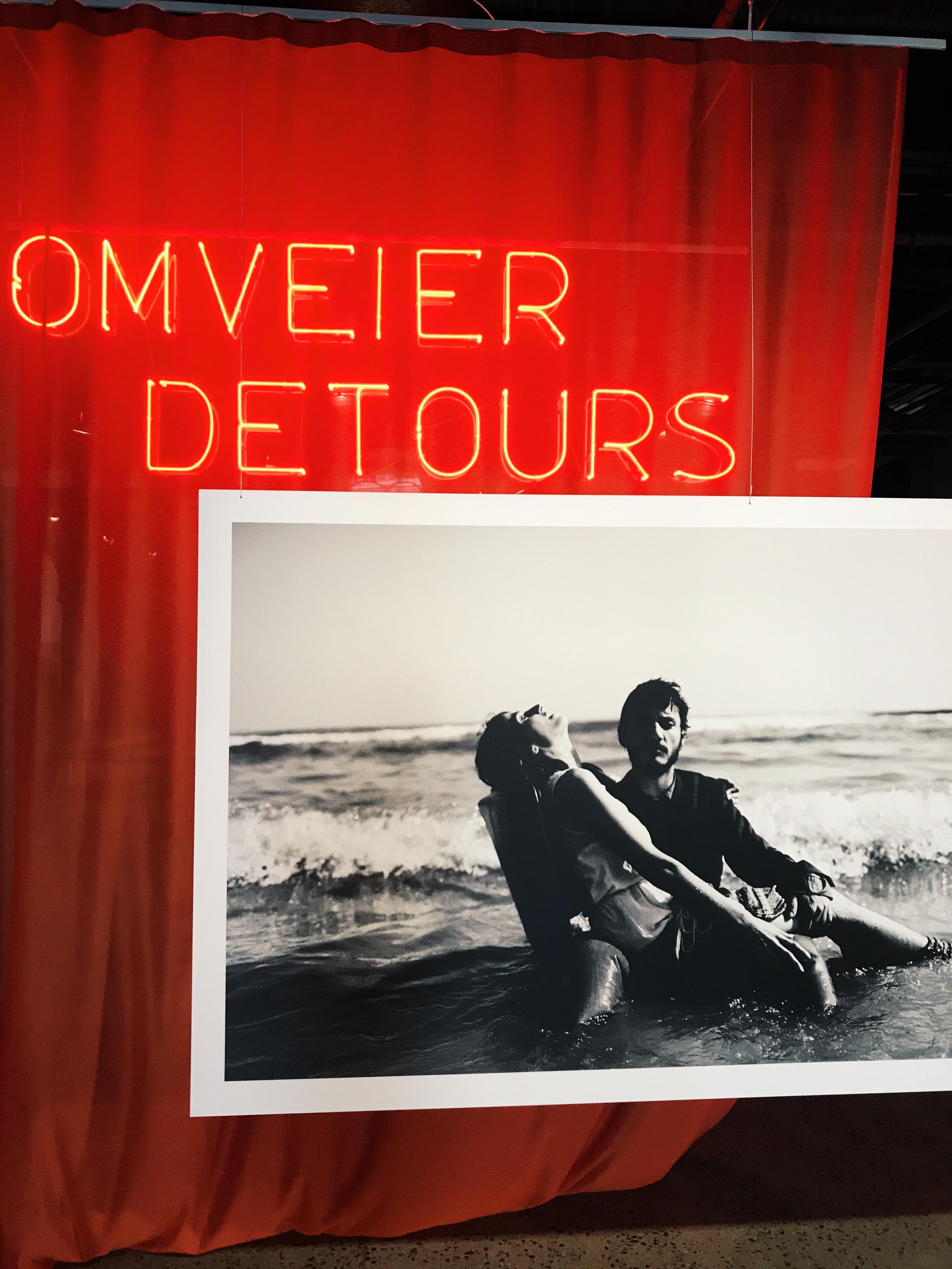 Detours exhibit
