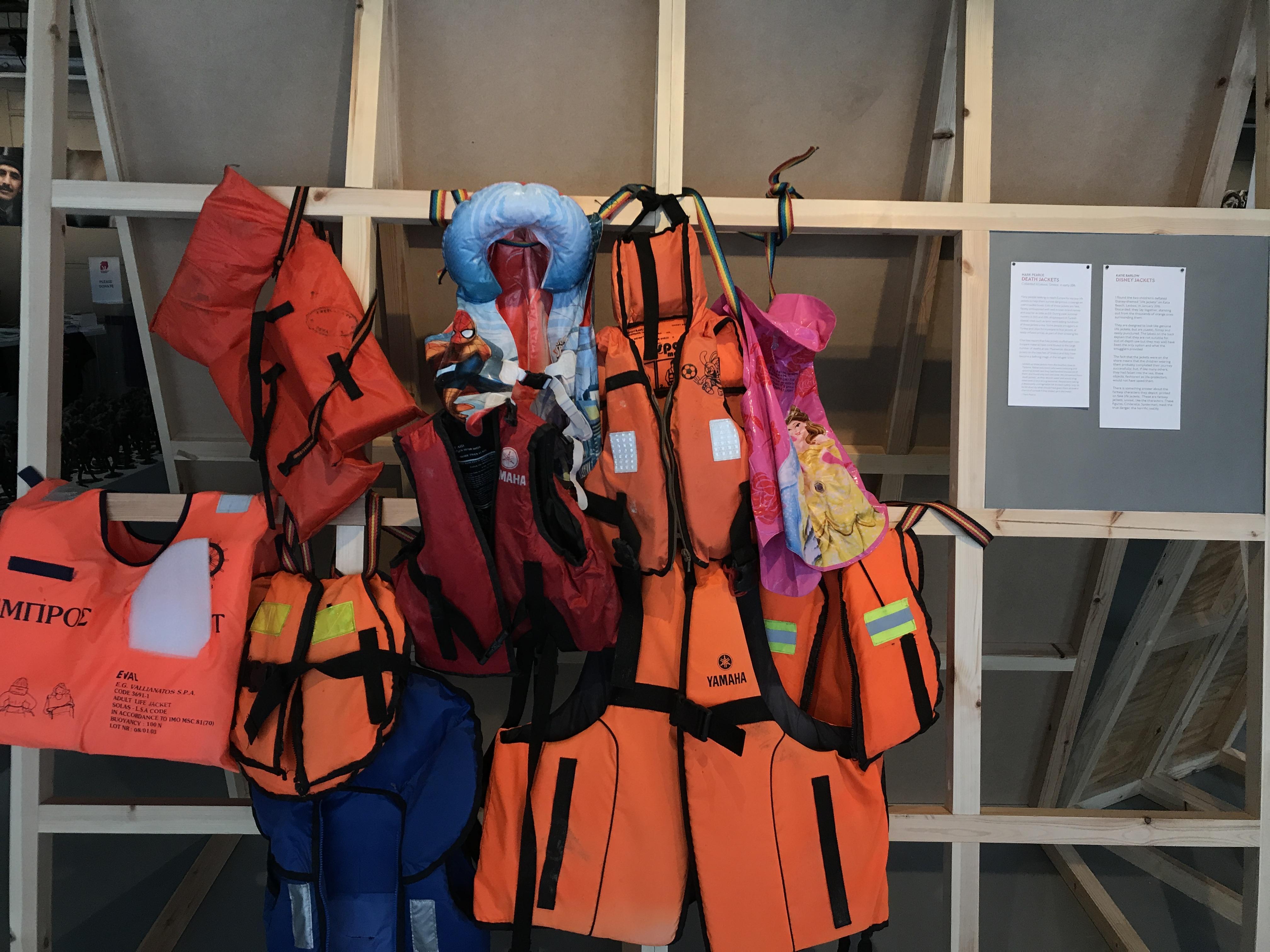 fake life jackets