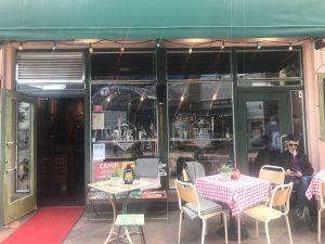 Italian restaurant in Gronland